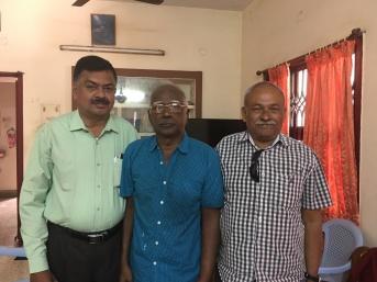When Dr Mohan & I met him