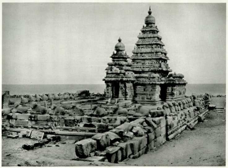 Sea shore temple 1928