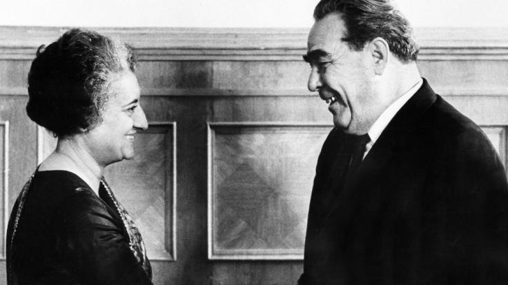 Brezhnev & Indira