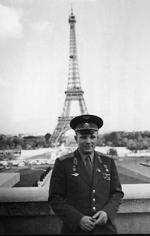 Gagarin in Paris