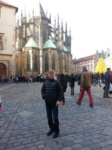 Halko and Yours Truly in Prague
