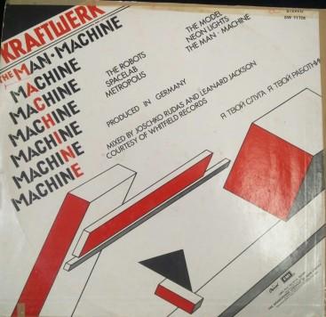My Man Machine Kraftwerk Album